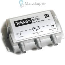 Mezclador terrestre satelite 2e/1s Televes 7452