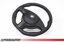 Spianate VOLANTE IN PELLE BMW e46 M VOLANTE CON PANNELLO FRONTALE MULTI radio. e airbag a