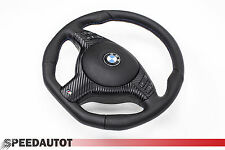 Abgeflacht Lederlenkrad BMW E39 M Lenkrad mit Blende Multifunk. und Airbag A