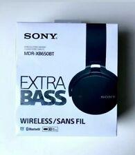 NEW Sony MDR-XB650BT Extra Bass Headband Wireless Headphones Black SEALED