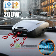 Dc 12V Car Truck Portable Ceramic Heating Cooling Heater Fan Defroster Demister