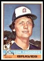 1976 Topps Baseball Nm-Mt Tom Paciorek Atlanta Braves #641
