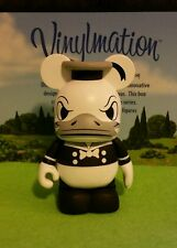 "Disney Park Vinylmation 3"" Set 1 Classic Black and White Series Donald Duck"