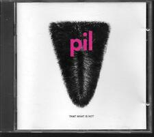 CD ALBUM 10 TITRES--PIL--THAT WHAT IS NOT--1992
