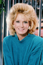 Angie Dickinson 11x17 Mini Poster Smiling 1980'S Portrait In Turquoise Sweater