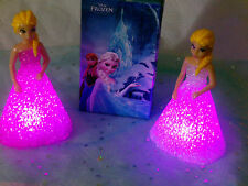 Frozen Elsa Colour Changing Night Light  Lamp - Great  Gift- UK SELLER