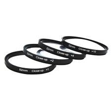 52mm Macro Close Up Filter Lens +1 + 2 +4 +10 Kit For Nikon Canon EOS 1100D T5i