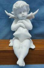 Guardian Angel Figurine Cherub Shelf Sitter  Statue Ornament Sculpture Gift