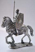 Soldado De Plomo Juguete, Praetorian Trooper, en el caballo, Coleccionable, rara, Regalo, na