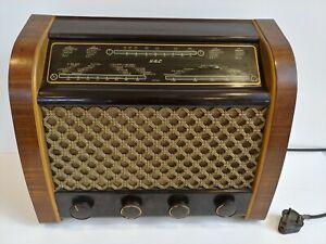 Vintage G.E.C Valve Radio Model BC5445 GEC *Untested*  R2