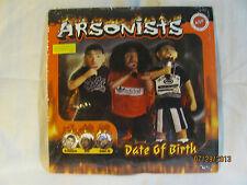 "Arsonists Date Of Birth 12"" LP Vinyl Record Hip Hop Rap"