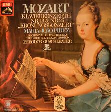 """MOZART - KRÖNUNGSKONERT MARIA JOÁO PIREZ BY THEODOR GUSCHLBAUER 12"""" LP (L216)"""