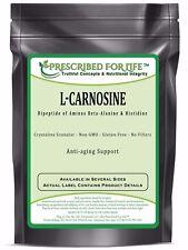 Carnosine (L) - Natutral Dipeptide of Amino Acids Beta-Alanine & Histidine, 12