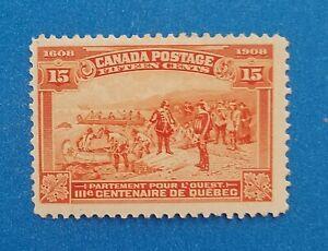 Canada Scott #102 MNH well centered good original gum. Good margins. Good colors