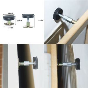 Headboard Holder Bed Frame Anti-shake Tool Support Adjustable For Room Wall