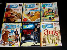 Lot - 6 Dlire D Lire French Children's Magazine Books - Bayard - 7-13 ans - SC