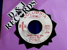 LIVERPOOL SET~MUST I TELL YOU I LOVE YOU~PROMO~MISS YOU SO~COLUMBIA ~ GARAGE 45