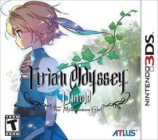 Etrian Odyssey Untold: The Millennium Girl [Nintendo 3DS, NTSC, Atlus RPG] NEW