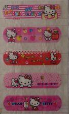 Hello Kitty adhesive bandage plaster/ cute band aid plaster - 5 x 2 = 10 pcs
