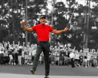 Tiger Woods 16x20 photo 2019 Masters!!! Awesome gift