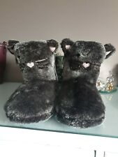 Boux Avenue Cat Boot Slippers Small 3-4