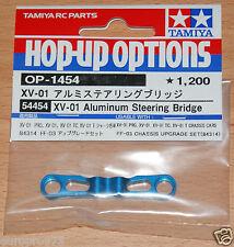 Tamiya 54454 XV-01 Aluminum Steering Bridge (XV01/XV-01T/XV01T/XV-01TC), NIP