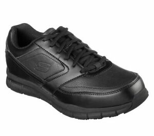 Skechers Men's Relaxed Fit: Nampa SR 77156 Black A3