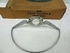NOS 1968 1969 Mustang Cougar 2 Spoke Steering Wheel Horn Ring (Argent)     dp