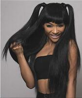 1 Bundle 100% Brazilian Virgin Remy Hair Straight Human Weft Extension Weave 50g