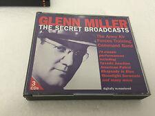 Glenn Miller: The Secret Broadcasts [BOX SET] 1996 2 CD W BKLT MINT/EX