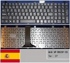 Clavier Qwerty Espagnol MSI MS1683 MS-1683 CR600 CX600 LG E500 MP-08C23SP-359