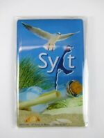 Sylt Gaviota Pájaro Germany Foto Imán 8 CM Viajes Recuerdo, Nuevo