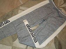 Victoria's Secret~*PINK*~Sweat Pant~Gray/Cream~Size: Large~NWT