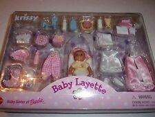 NIB! Krissy Baby Layette (Barbie's baby sister)