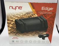 NYNE Water Resistant Portable Speaker - BLACK - Bluetooth Water Resistant - EDGE