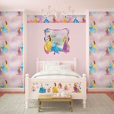 "Disney ""Pretty as a Princess"" Graham & Brown Kids Wallpaper & Paperhanging Set"
