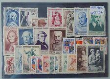 Année complète france 1953 YT 940/967 neuf luxe ** cote 197 euro