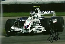 Sebastian Vettel 2007 US Grand Prix signed large photo F1 BMW Sauber 07