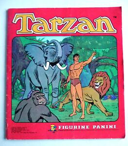album de vignettes tarzan panini 1976 77 78 incomplet