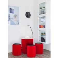 Beisteltisch Table Ø60 Rouge Papur Sompex Table Basse en Papier Pliable
