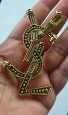 By Ysl Large Brooch