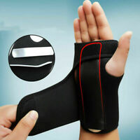 Left & Right Hand Wrist Brace Support Splint Relieve for Carpal Tunnel Syndrome