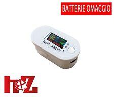 Misuratore ossigeno Portatile da dito Pulsossimetro Saturimetro Ossimetro