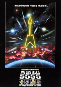 Daft Punk e Leiji Matsumoto Interstella 5555 EXTRALABEL