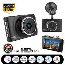 "3"" Full HD 1080P Car DVR CCTV Dash Camera G-sensor Vehicle Video Cam Recorder UK"