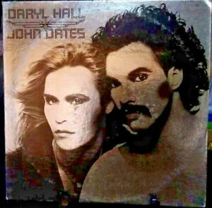 HALL & OATES Self-Titled Silver  Album Released 1975 Vinyl/Record Collection USA