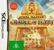 NINTENDO DS JEWEL MASTER CRADLE OF EGYPT GAME COMPLETE