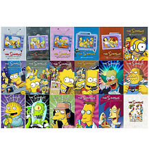 The Simpsons: Complete Series Season 1-17 + 20 DVD Ultimate Collection Set | NEW