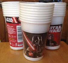 24 x Star Wars ~ Darth Vader & Stormtroopers ~ 200ml Cups ~ Boys Birthday Party