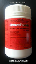 Ranvet's All Wormer For Dogs 10kg Canine Allwormer Dog Wormer Tablet - 1 TABLET!